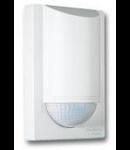 Senzor de miscare,detectie cu infrarosu,montare perete exterior,180grade,12m,alb