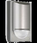 Senzor de miscare,detectie cu infrarosu,montare perete exterior,180grade,12m,argintiu