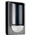 Senzor de miscare,detectie cu infrarosu,montare perete exterior,180grade,12m,negru