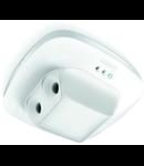 Senzor de prezenta profesional,detectie ultrasunet,180 grade,3mx10m,IP20,DIM