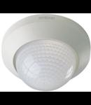 Senzor de prezenta profesional,detectie infrarosu,360 grade,raza max.12m,IP20,interior