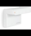 Senzor de prezenta profesional,detectie inteligenta inalta frecventa,160 grade,raza max.7m,IP54,exterior,alb
