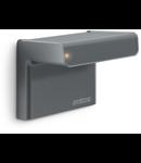 Senzor de prezenta profesional,detectie inteligenta inalta frecventa,160 grade,raza max.7m,IP54,exterior,antracit