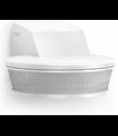 Senzor de prezenta profesional,detectie infrarosu,3x100 grade,IP54,alb