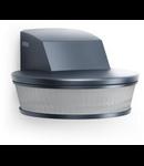 Senzor de prezenta profesional,detectie infrarosu,3x100 grade,IP54,argintiu