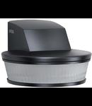 Senzor de prezenta profesional,detectie infrarosu,3x100 grade,IP54,negru