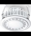 Spot RS PRO DL LED cu senzor de miscare inalta frecventa,22 W,lumina calda,alb