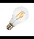Bec LED Filament,10 w,E 27,lumina calda,bulb sticla,A67