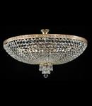 Candelabru Diamant Crystal Palace 10 becuri dulie normala E27 230V Diam. 80cm, H42 cm,Auriu