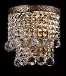 Aplica Diamant Crystal Gala,1 x E14, 230V, D.16cm,H.17 cm,Auriu