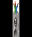 Tub copex cablat, cablu flexibil inclus la interior 3x2.5