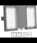 Corp de iluminat antiexplozie cu optica speciala EXL 380 LED 90W