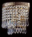 Aplica Diamant Crystal Fabric,1 x E27, 230V, D.18cm,H.18 cm,Auriu