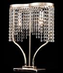 Veioza Diamant Crystal Toils 2 becuri,dulie E14,230V,Diam. 40cm ,H36cm,Auriu