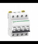 Siguranta automata Tetrapolara 4P, 4,5kA 40A/C iK60N