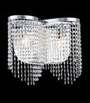 Maytoni Aplica Diamant Crystal Toils,2 becuri dulie E14, 230V,D.40cm, H.36 cm,Nichel