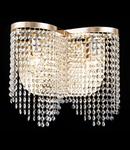Maytoni Aplica Diamant Crystal Toils,2 becuri dulie E14, 230V,D.40cm, H.36 cm,Auriu