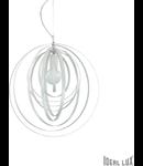 Corp de iluminat LED suspendat alb Disco
