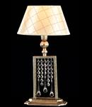 Veioza Diamant Crystal Bience 1 bec,dulie E14,230V,Diam. 26cm ,H 42cm,Aur antic