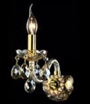 Aplica Diamant Crystal Brandy,1 x E14, 230V, D.21cm,H.18 cm,Auriu
