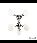 Corp de iluminat cu elemente de jonctiune rotative 5x40W
