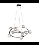 Corp de iluminat compus din inele concentrice rotative 10x40W