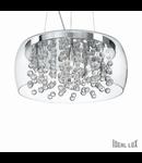 Corp de iluminat cu elemente de sticla decorativa 8x40W