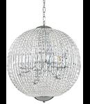 Corp de iluminat cu elemente de cristal 12x40W