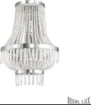 Corp de iluminat cu elemente decorative sub forma de perle din cristal 3x40W