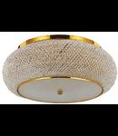 Corp de iluminat cu perle din cristal 10x40W Auriu