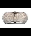 Aplica cu perle din cristal 3x40W Crom