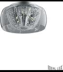Plafoniera Audi 60, 11 becuri, dulie G4, D:500mm, H:230mm, Crom