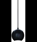 Pendul Mr Jack Small, 1 bec, dulie GU10, D:120mm, H:300/1200mm, Negru