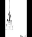 Lustra Cono, 1 bec, dulie E14, D:150mm, H:380/1200mm, Crom