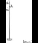 Lampa de podea Discovery, 3 becuri, dulie G9, D:300mm, H:1620mm, Crom