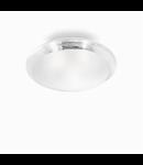 Plafoniera Smarties Clear D40, 2 becuri, dulie E27, D:425mm, H:140mm, Transparenta