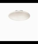 Plafoniera Smarties Bianco D50, 3 becuri, dulie E27, D:500mm, H:140mm, Alb
