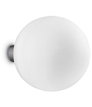 Aplica Mapa Bianco D30, 1 bec, dulie E27, D:300mm, H:325mm, Alb