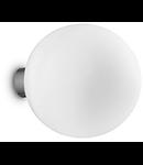 Aplica Mapa Bianco D20, 1 bec, dulie E27, D:300mm, H:220mm, Alb