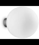 Aplica Mapa Bianco D15, 1 bec, dulie G9, D:150mm, H:170mm, Alb