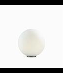 Veioza Mapa Bianco D40, 1 bec, dulie E27, D:400mm, H:420mm, Alb
