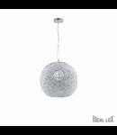 Pendul Emis D33, 1 bec, dulie E27, D:330 mm, H:425/1415mm, Transparent