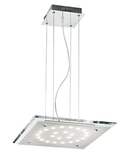 Pendul Pacific, 24 LED, L:450 mm, H:200/1100 mm, Transparent