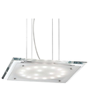 Pendul Pacific, 18 LED, L:380 mm, H:200/1100 mm, Transparent