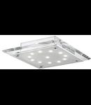 Plafoniera Pacific, 12 LED, L:300 mm, H:68 mm, Transparent