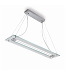 Pendul Relax, 2 neoane, L:1060 mm, H:80/1200 mm, Transparent