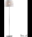 Lampa de podea Basket, 1 becuri, dulie E27, D:410 mm, H:1540 mm, Alb