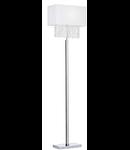 Lampa de podea Phoenix, 1 bec, dulie E27, L:440 mm, H:1600 mm, Alb