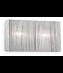 Aplica Missouri, 2 becuri, dulie E14, L:315 mm, H:170 mm, Argintie