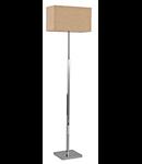Lampa de podea Kronplatz, 1 bec, dulie E27, L:340 mm, H:1570 mm, Maro